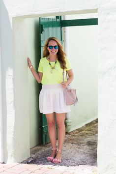 Neon Brights in Bermuda + $500 Giveaway!