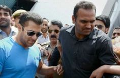 "Jaipur : Bollywood actor Salman Khan on Wednesday reached the court of chief judicial magistrate (CJM) in Jodhpur to record his statement in a case under the Arms Act. CJM Anupama Bijlani had on April 23 asked Salman's counsel to ensure his presence in the court on April 29. ""He (Salman) along with his body guard Shera and sister Alvira... Read More"