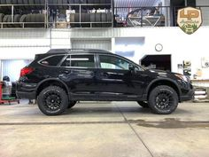 "Here is our demonstrator vehicle for the project LP Adventure, the new division of Lachute Performance, which is devoted to the preparation of the Subaru Outback, Forester and XV Crosstrek for off-road. Make: Subaru Model: Outback 3.6R Limited Package Year: 2016 Color: Crystal Black Silica Modifications: Tires: 245/65R17 BFGoodrich All Terrain T/A KO2 Wheels: Motegi Racing MR118 17x8 Offset 45 Lift Kit: LP Aventure 2"" Skid plate: LP Aventure  Cargo basket: Yakima Loadwarrior + Extension…"