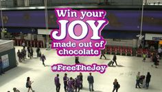 Cadbury #FreeTheJoy campaign launches experiential game at Waterloo