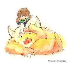 SO SUNNY So in love with these Ilustrations for girl room. Ilustraciones geniales para la habitación de una niña.