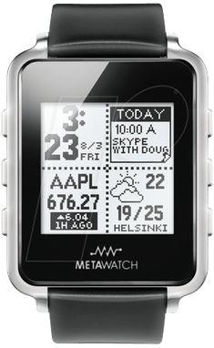 #METAWATCH FRAME nur 89,95 €: Smartwatch, schwarz