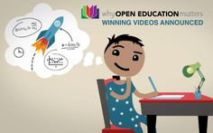 Open Education Video Contest Winners Announced  Creative Commons, the U.S. Department of Education, and the Open Society Foundations are pleased to announce the winners of the Why Open Education Matters video competition. The competition was launched in March to find creative videos that clearly communicate the use and potential of free, high-quality Open Educational Resources, or OER.