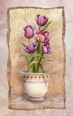 Tulips by Abby White