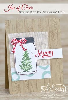 Jar of Cheer Christmas Card