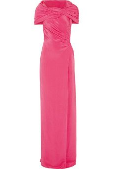 Emilio Pucci Draped silk gown | THE OUTNET