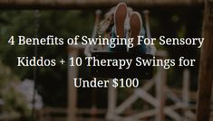 Using a sensory swing may be the key to helping your child with sensory integration. Sensory swings help stimulate the vestibular and proprioceptive systems in a calming way. Proprioceptive Input, Vestibular System, Sensory Integration Therapy, Sensory Swing, Hanging Upside Down, Emotional Regulation, Sensory Processing Disorder, Autistic Children, Calm Down