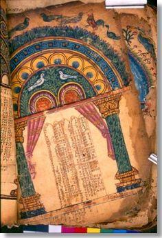 6th Century Garima Gospels, Ethiopia
