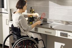 Pull Out Electric Stove Top For An Accessible Kitchen Allows Wheelchair Or Walker Users To Get