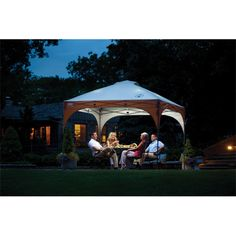 Coleman - Coleman Instant Canopy   Instant Canopy   Coleman - 10 ft. x 10 ft. Lighted Instant Canopy