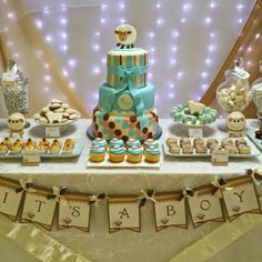 This has to be one of my favorite themes so far: a Little Lamb Baby Shower. A simple, sweet and delicate event in creams and blues. T...