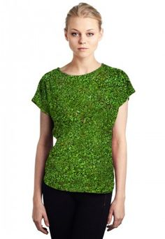 Grass - Printed Top