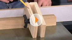 May 16, 2013 | Woodsmith Tips  Stop Block for Perfect Cuts