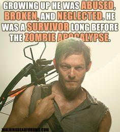 Daryl Dixon was a survivor long before the apocalypse
