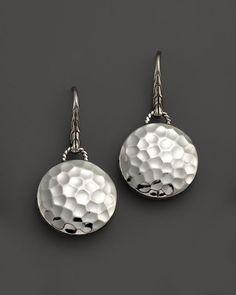 John Hardy Palu Sterling Silver Round Drop Earrings