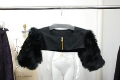 Eleven Objects Fur sleeves