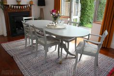 Image result for upcycled dining table and chairs