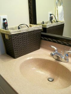 Simple Solutions: Bathroom Organization and 31 Days to Clean