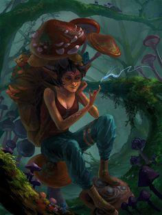 Mushroom Keeper by Phill-Art on DeviantArt