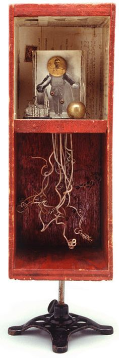 ⌼ Artistic Assemblages ⌼ Mixed Media & Collage Art - James Michael Starr shadow box art assemblage