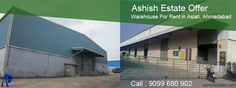 #AshishEstate simplify your search for #warehouse for #rent in #Aslali Ahmedabad