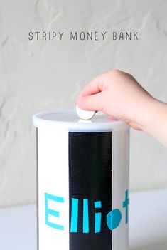 Make A Fun Up-Cycled Money Bank