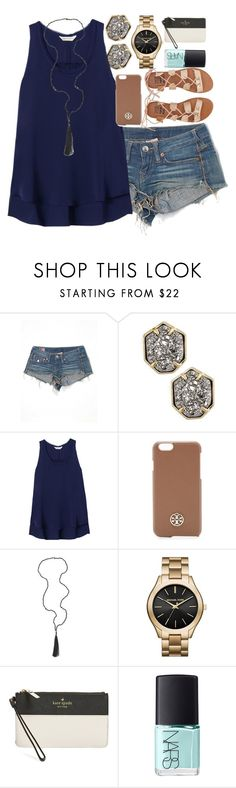 """I didn't think you had to be perfect to be a girl. I didn't think you had to be beautiful to be wanted. And I certainly don't understand why I can't just be good enough the way I am."" by classically-kendall ❤ liked on Polyvore featuring True Religion, Kendra Scott, Rebecca Taylor, Tory Burch, Panacea, MICHAEL Michael Kors, Kate Spade, NARS Cosmetics and Billabong"