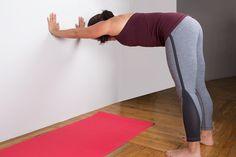 Half Dog #yoga #stretching #fitness http://greatist.com/move/yoga-mega-inflexible-people