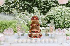 Neked Cake als Zentrum der Candybar von Lisi's sße Welt | Foto: Thomas Steibl * Fine Art Wedding Photographer