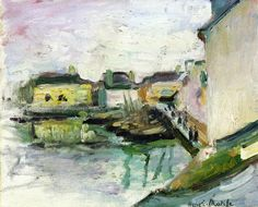 The Port of Palais, Belle Ile, 1896			-Henri Matisse - by style - Impressionism