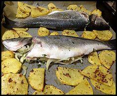 fırında levrek ve hardal soslu patates tarifi hem pratik hem lezzetli..