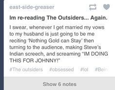 Read The Outsiders Imagines - Not an imagine - Wattpad