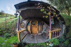 Hobbit Door, The Hobbit, Fairy Houses, Play Houses, Casa Dos Hobbits, Hidden House, Eco Buildings, Tolkien, Underground Homes