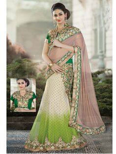 Indian Traditional  Party Wear Saree with  Blouse comes as unstitched fabric | eBay
