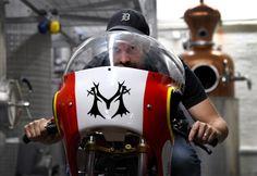 Motorbike Powered On Vodka Breaks Speed Record Motorbikes, Vodka, Motorcycles, Motorcycle