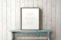 Styled Stock Photography-Gold Frame Mockup | inphomarket