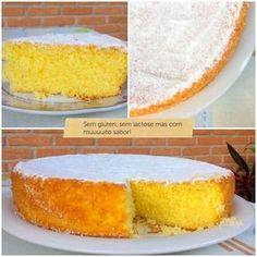 bolo de laranja: