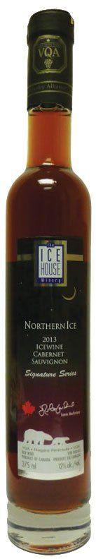 Northern Ice Cabernet Sauvignon Icewine NEW! Ice Houses, Red Fruit, Cabernet Sauvignon, Whiskey Bottle, Wine, Bottles