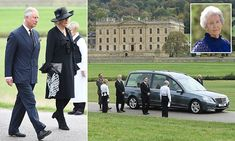 Funeral for 'Debo', the last of the Mitford sisters Debo -bonkers but really nice, just like her ol' man, Andrew Cavendish Duke of Devonshire who was also a great supporter of Israel and once invited the Manchester Jewish community to have tea and wotnot at Chatsworth House.