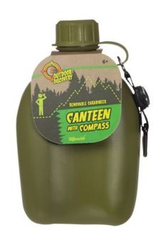 Stay hydrated on all your outdoor adventures with this plastic canteen with compass. canteen with compass. Bring on all your outdoor adventures to stay hydrated. Toysmith Canteen With Compass Working Compass, Best Gifts For Tweens, Cool Toys For Boys, Sports Games For Kids, Tween Girl Gifts, Thing 1, Toddler Christmas, Toys Online, Canteen