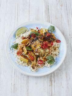 Super-simple chicken curry traybake | Jamie Oliver#PWRkYpCOwlH5iyQD.97#PWRkYpCOwlH5iyQD.97
