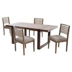Epicenters 5-Piece Formal Dining Set