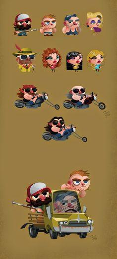 -Franco Spagnolo-: Character Design MIX - Vol. 2