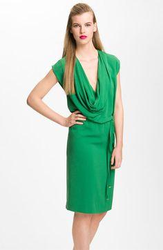 Diane von Furstenberg 'New Reara' Draped Silk Dress | #Nordstrom