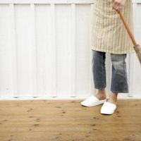 How to Clean Painted Wood Decks | eHow