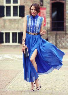 Preppy Fashionist, SheInside dress via Fashion Cognoscente