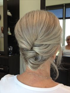 Updo for 50 and over women