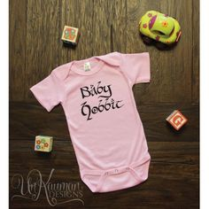 Lord of The Rings  Baby Hobbit  Baby Onesies  by UnKaumanDesigns, $12.59