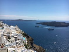 The caldera in Thira #santorini #thira