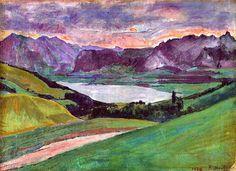 Thunersee - Ferdinand Hodler